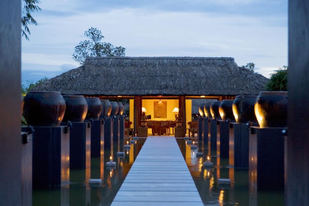 Ancient Indochina Style Resort Hotels/Architecture1